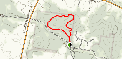 Cedar Forest Trail Map