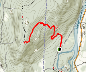 Schaghticoke Mountain via Appalachian Trail Map