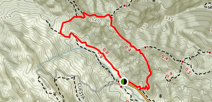 Bollinger Creek Loop Trail Map