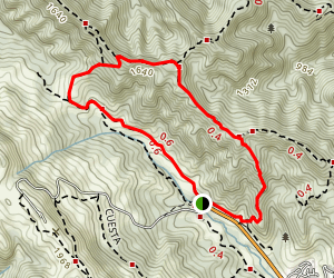 Chamise Trail and Bollinger Creek Loop Trail Map