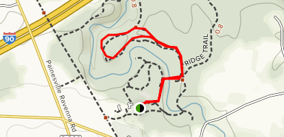 Concord Woods Nature Trail Map