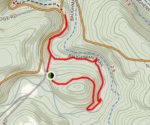 Meadow Run Trail Map