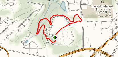 Webb Bridge Park Trail Map