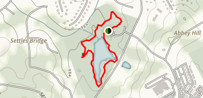 Sims Lake Park Trail Map