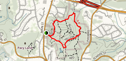 Great HIll Conservation Area Map