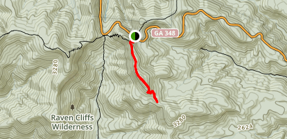 Whitly Gap Trail Map