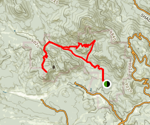 Staunton Ranch and Overlook Trail Map