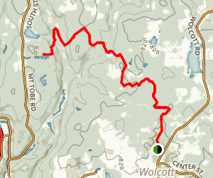 Mattatuck Trail Map