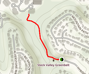 Steck Valley Trail Map