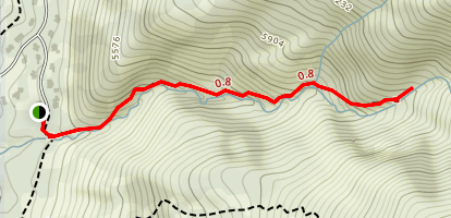 Hobbs Canyon Trail Map
