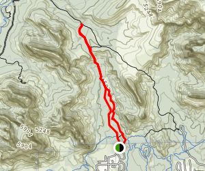 Soldier Pass Trail Map