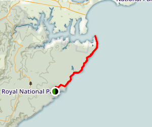 Coast Track: Wattamolla to Port Hacking Point Map