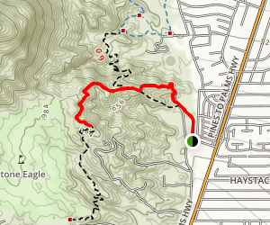 The Cross Trail Map