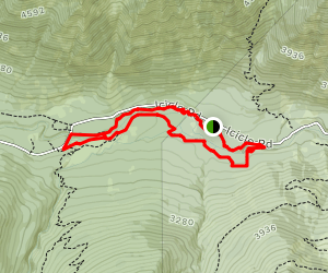 Icicle Gorge Trail Map
