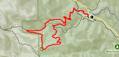 Eagle's View Trail Loop Map