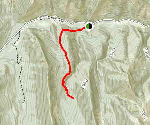 Rierdon Gulch Trail Map
