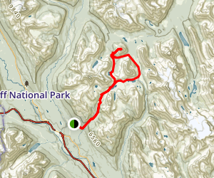 Skoki Mountain Loop Trail Map