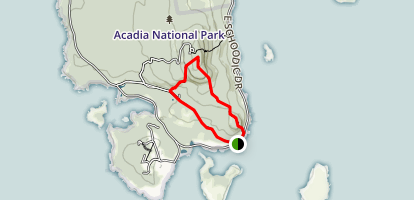Alder and Anvil Trails Loop Map