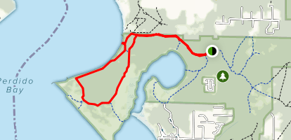 Perdido Bayou Trail Map
