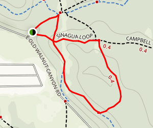 Sinagua Loop Map