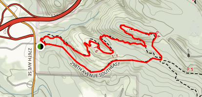 Holder Ridge Trail Map