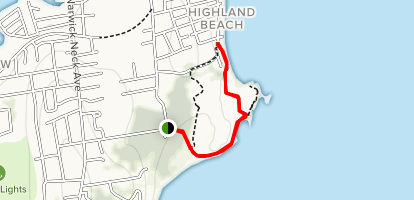 Rocky Point Walking Trail Map
