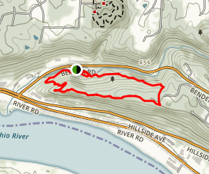 Bender Mountain Loop Trail Map