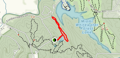 Timberlakes Trail Map