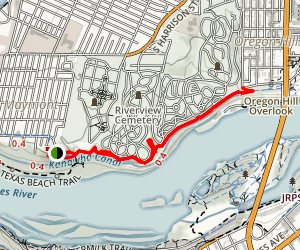 North Bank Trail Map