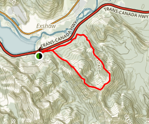 Heart Mountain Horseshoe Map