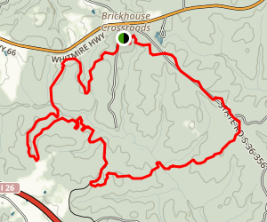 Buncombe Trail Map