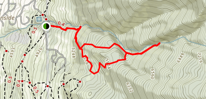 Davis Creek Trail Map
