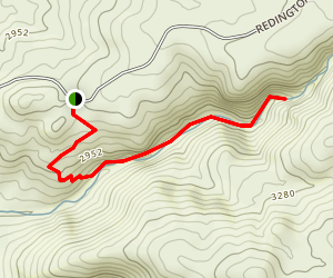 Tanque Verde Falls Trail Map
