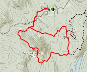 Wyanoke High Point Trail Map