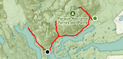 Circuito W Torres Del Paine Camping : Accommodations in torres del paine national park bookmundi