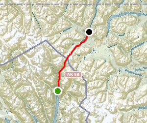 Chilkoot Pass Trail Map