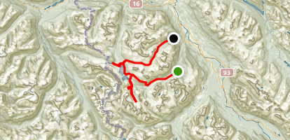 Tonquin Valley Map