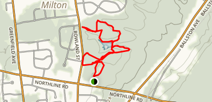Woods Hollow Nature Preserve Map
