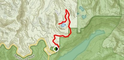Fawn Lake Trail Map
