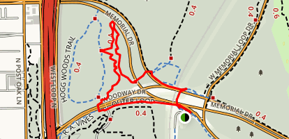 The Triangle Trail Map