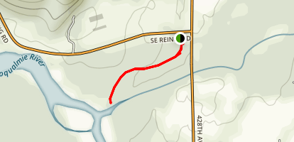 Three Forks Snoqualmie River Trail Map