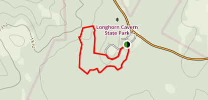 Longhorn Cavern State Park Trail Map