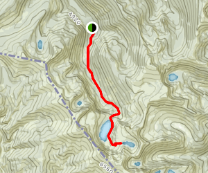 Heart and Pearl Lakes Trail Map