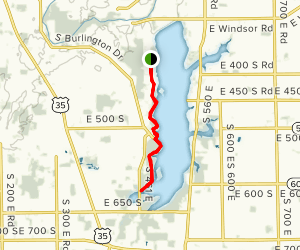 Prairie Creek Reservoir Horse Trail Map