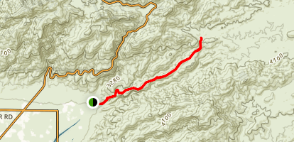 Milagrosa- Canyon Trail Map