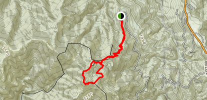 King Peak Trail Map