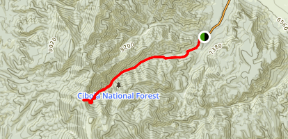 Copper Canyon Trail Map