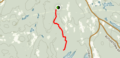 Nehantic State Forest Trail Map