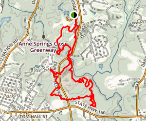 Sugar Loop Trail Map