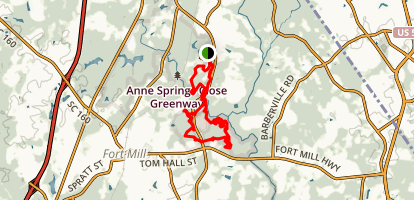 Sugar Loop Trail (CLOSED) Map